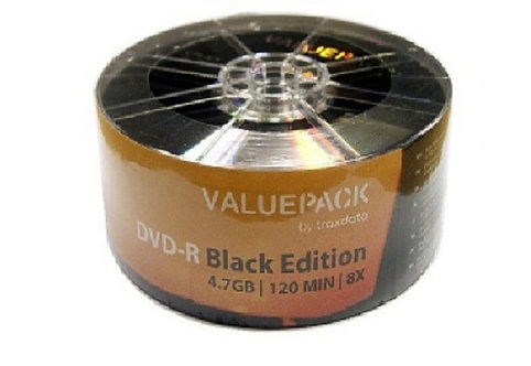 Traxdata DVD-R 25 pack Value pack