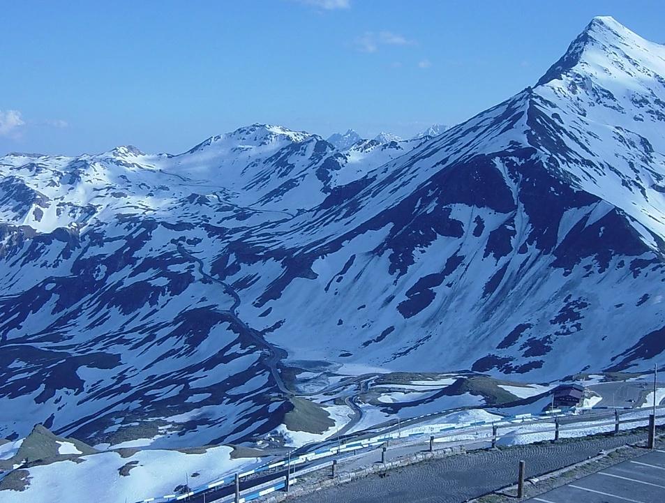 montanhas gelo europa viagem