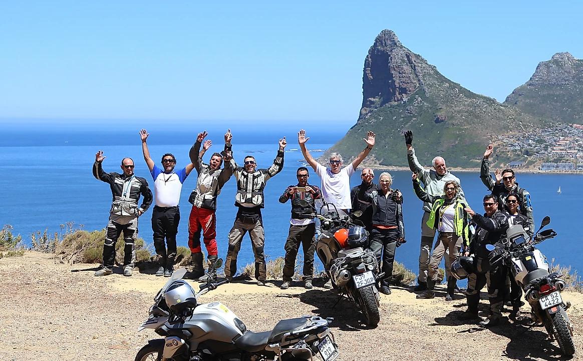 grupo viagem de moto africa do sul