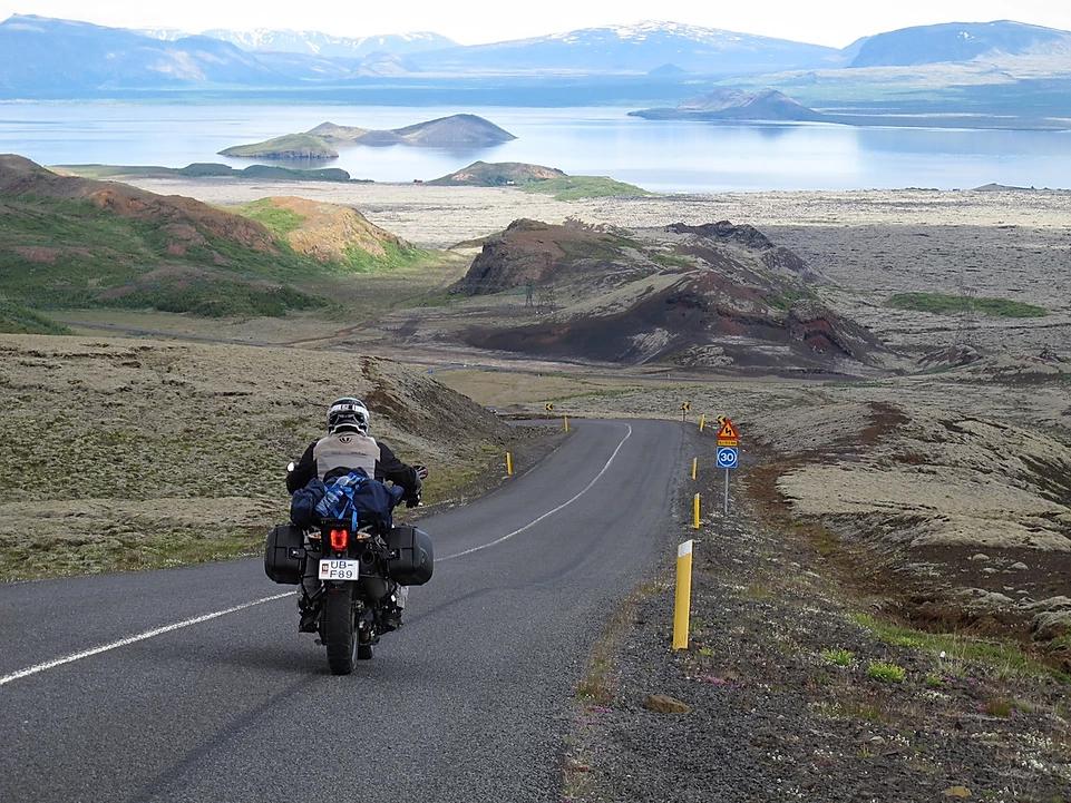 roteiro de moto bmw islandia roadtrip