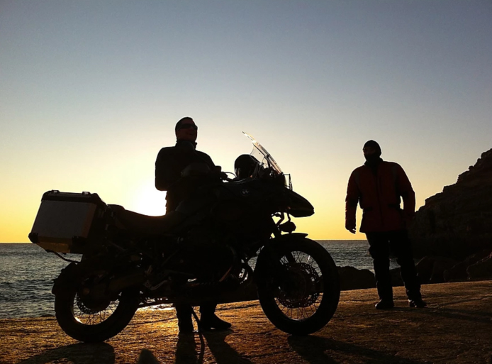 viagem de moto bmw