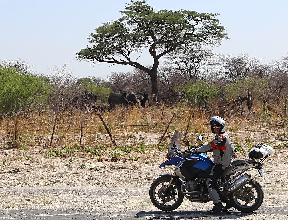 viagem de moto africa do sul road trip