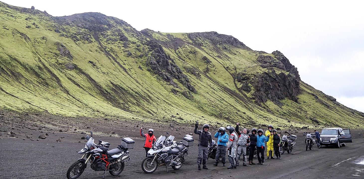 viajar para a islandia de moto