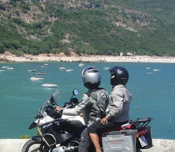 viagem economica moto europa portugal