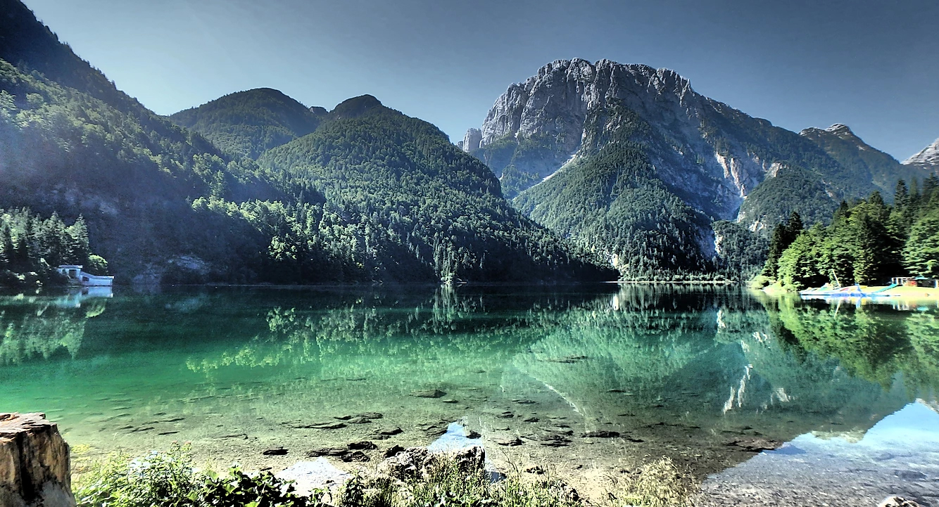 Paisagens viagem para os Alpes