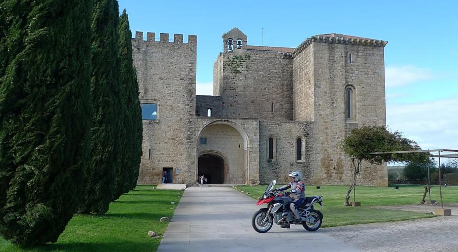 viagem de moto castelos portugal