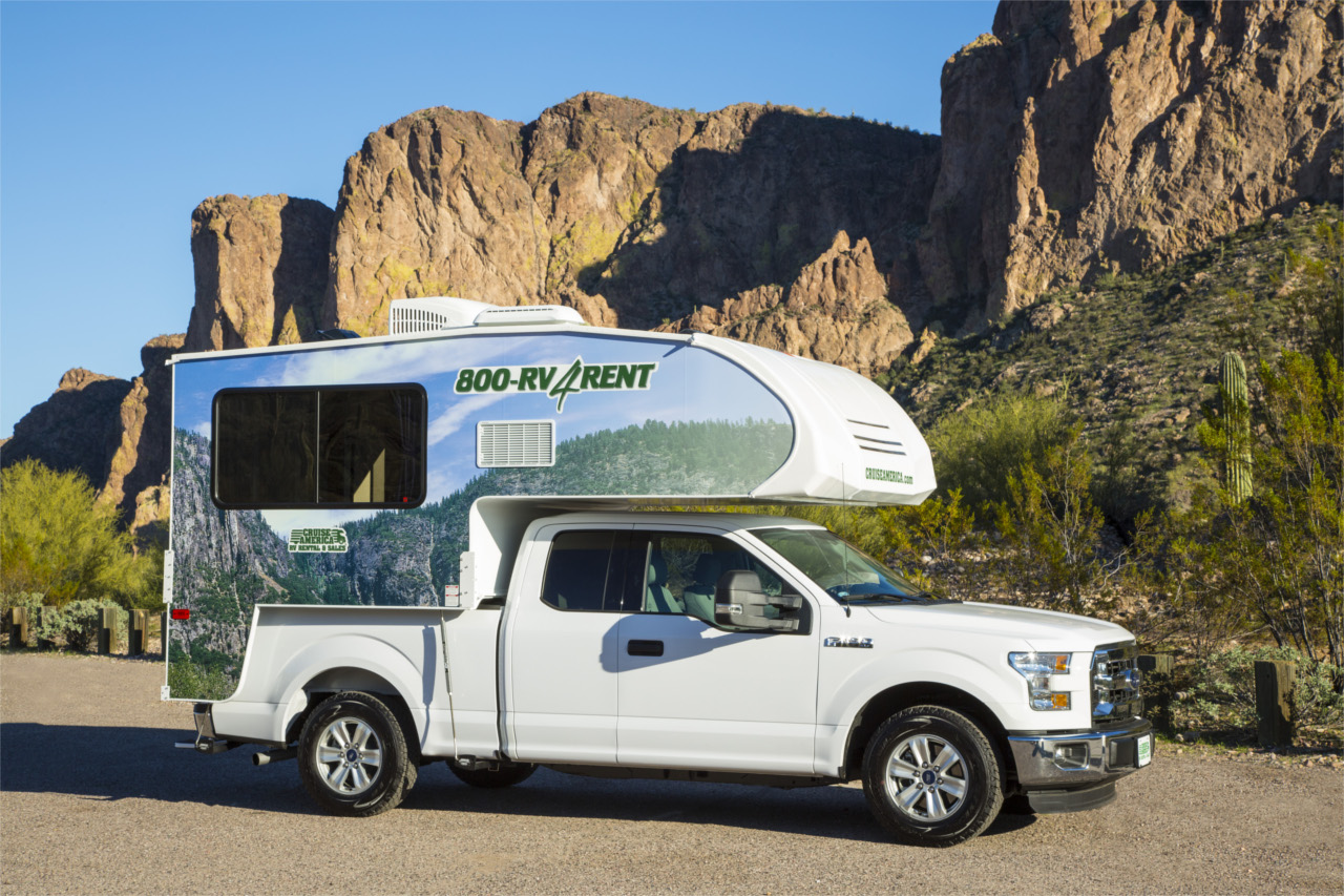 vista externa lateral - T17 Truck Camper