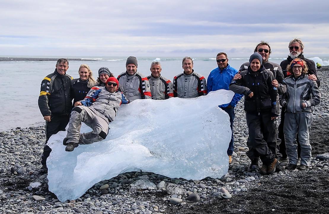 viagem para islandia grupo gelo