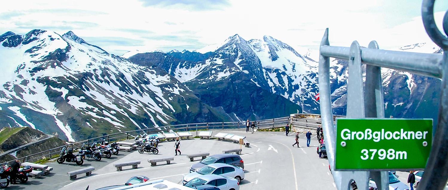roteiro de moto Alpes