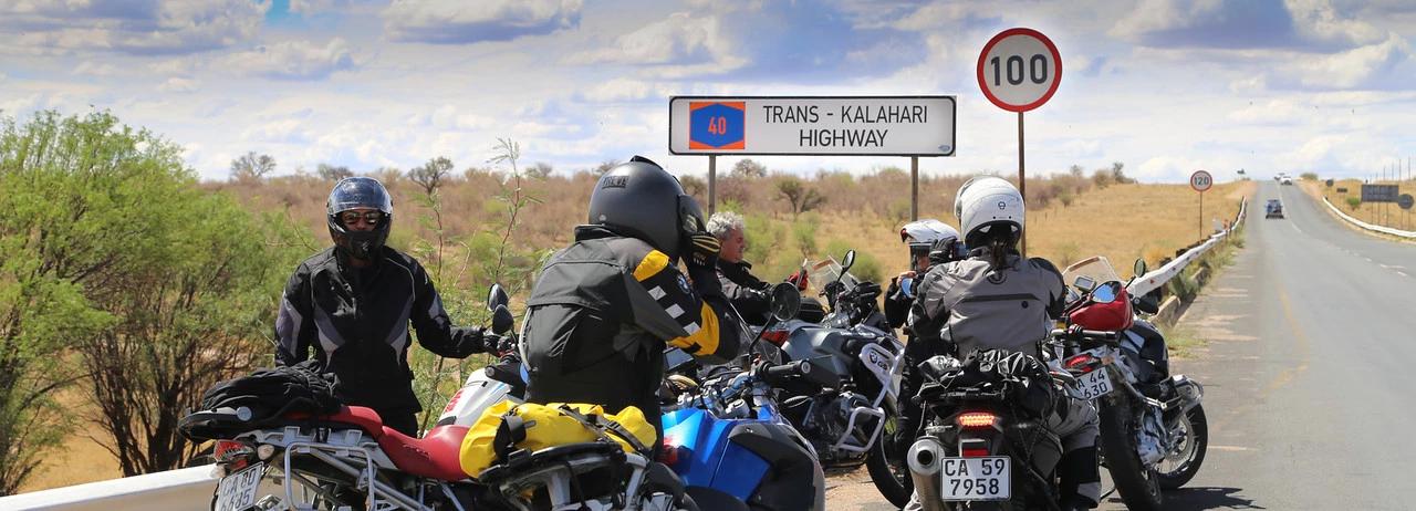 turismo de moto africa