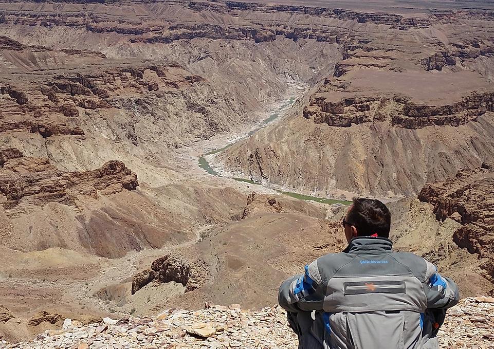 viagem de moto para africa