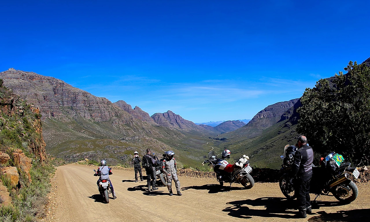 motorcycle tour africa do sul bmw