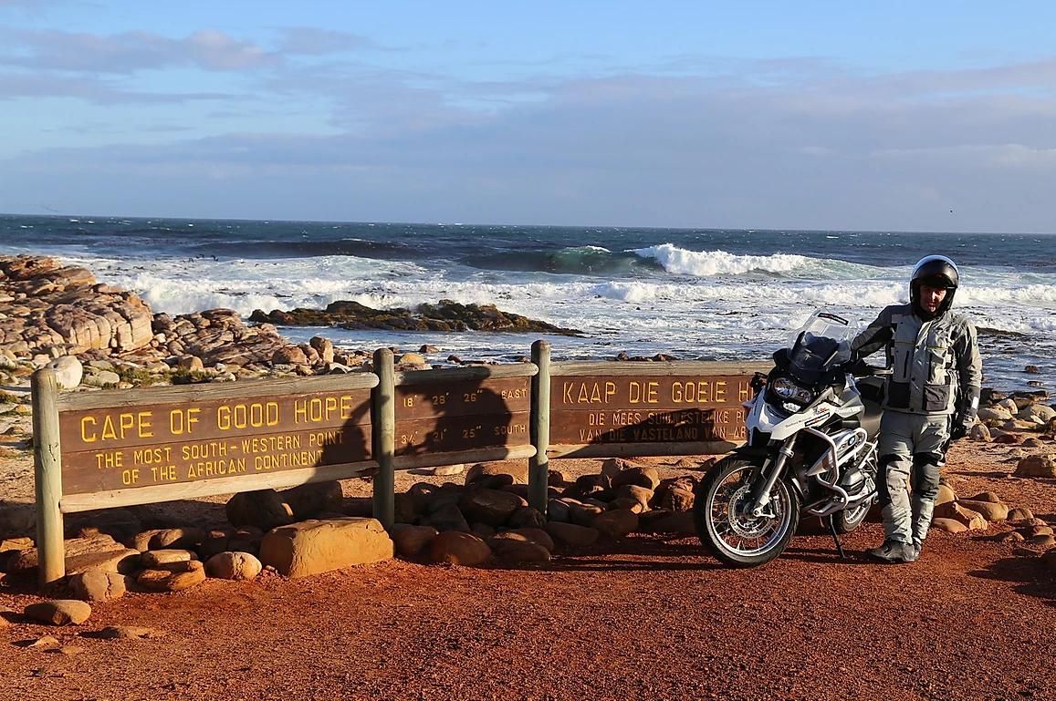 moto bmw para viajar africa