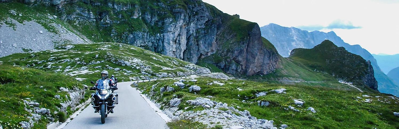 tour de moto Alpes