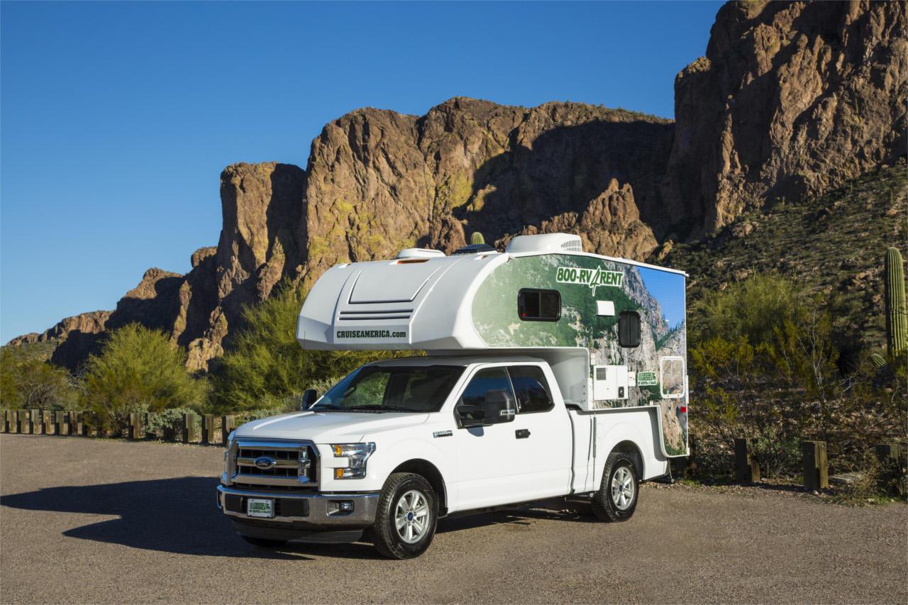 Motorhome - T17 Truck Camper