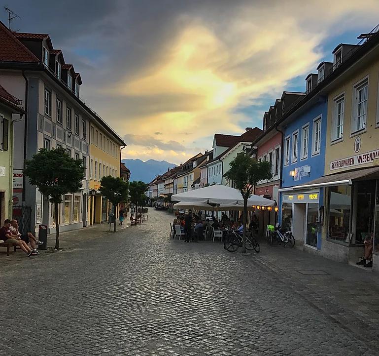ruas da europa para viajar