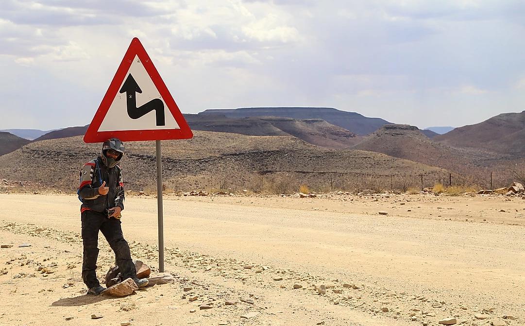 rodovias viagem moto africa