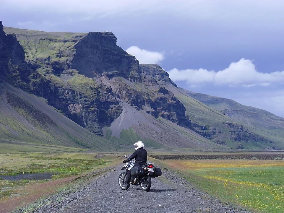 moto bmw roteiro road trip islandia