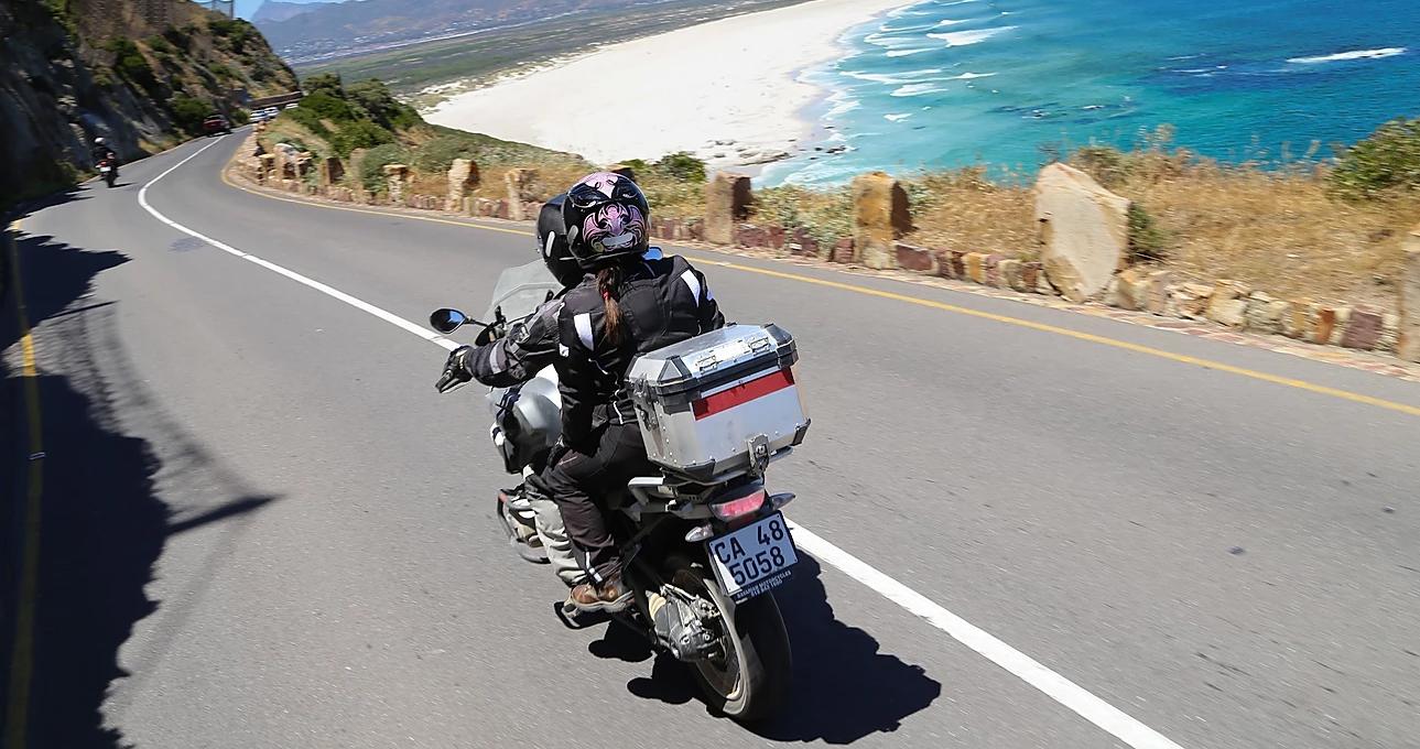 viajar de moto na africa do sul