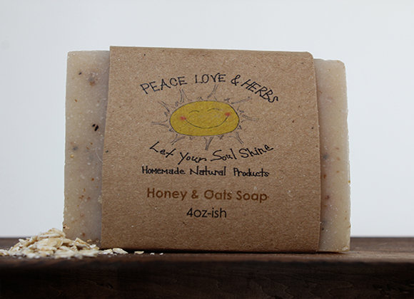 Honey & Oats Soap