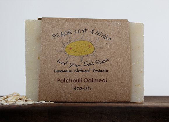 Patchouli Oatmeal Soap