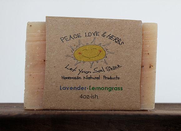Lavender-Lemongrass Soap