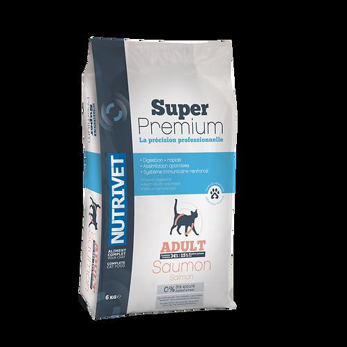 NUTRIVET CHAT SAUMON - 3,5kg / 8kg
