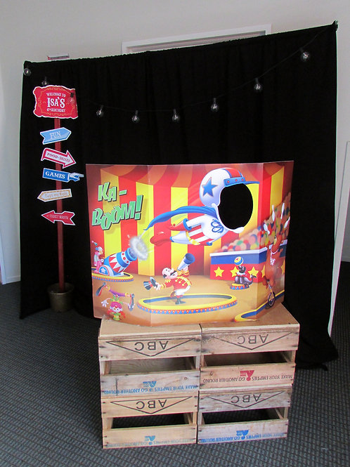 Circus Carnival Photo Booth