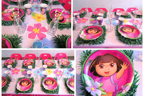 Dora The Explorer Party Theme Girl