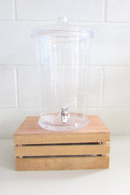 Tall Clear Drink Dispenser