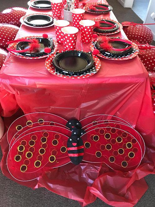 Lady Bug Party Theme Girls