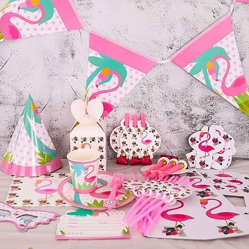 Flamingo Party Theme Girls