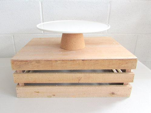 Cake Stand Cork Base