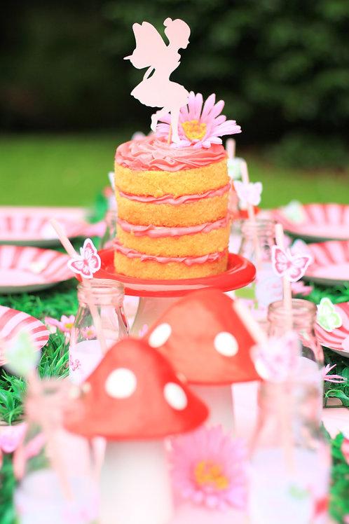Enchanted Garden Party Theme Girl