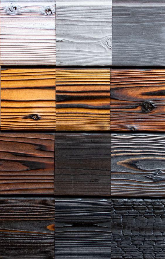 coloris de bois