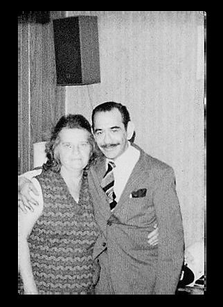 Grandparents old photo