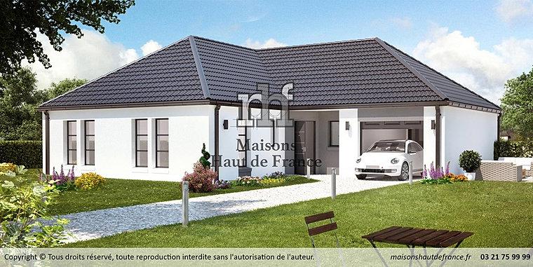 Maisons Haut de France. Site Officiel. | PP Gondecourt enduit