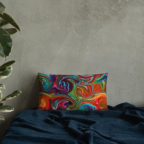 Jewel Swirl Premium Pillow