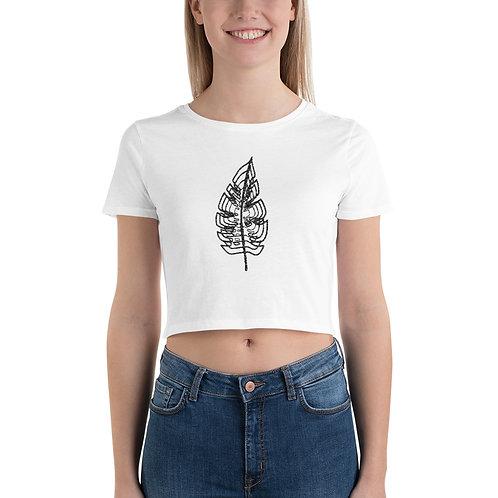 Single Leaf Women's Crop Tee