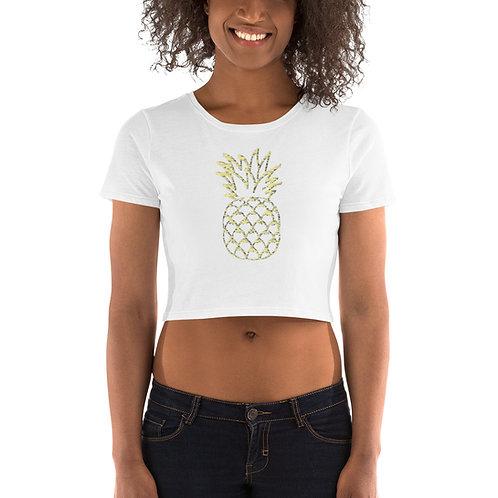 Pineapple Women's Crop Tee