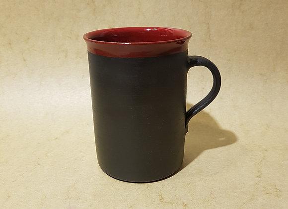 Zylindertasse Rot-Schwarz