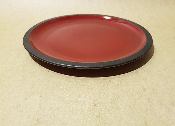 Mittelteller Rot-Schwarz