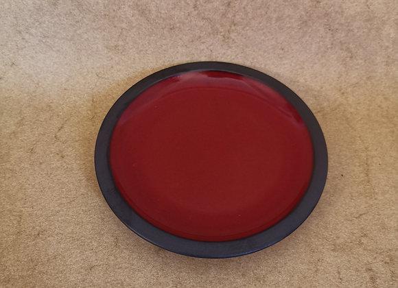 Unterteller Rot-schwarz