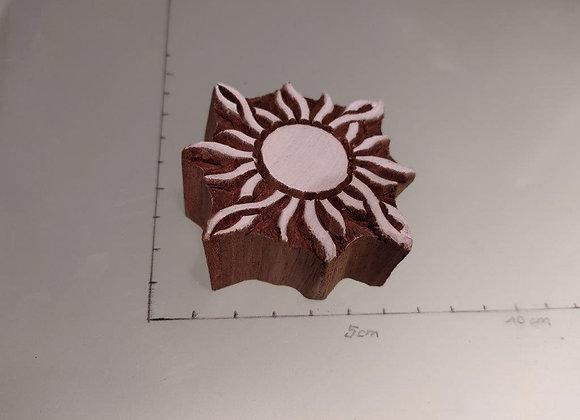 """Motivstempel aus Holz """"THJ 019"""""""