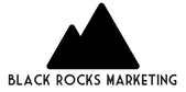 Black Rocks Marketing Logo