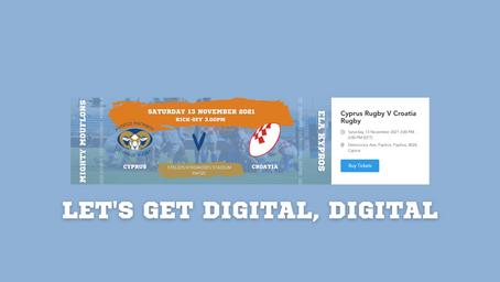 Digital Ticketing for Cyprus Rugby - We Did It!