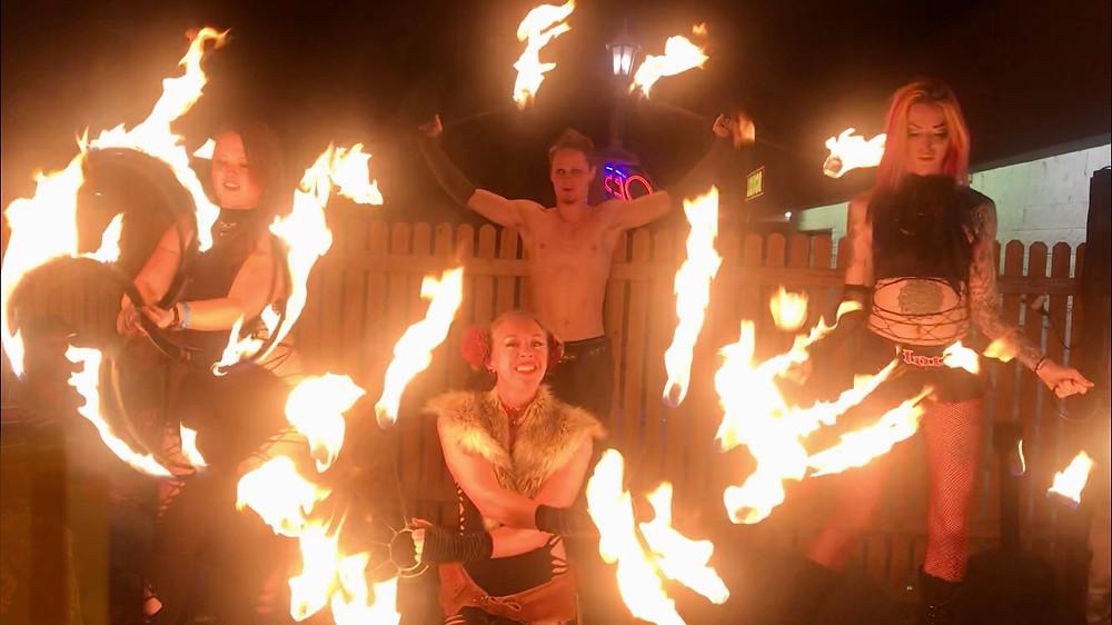 dance party fire dancing entertainment Lakewood Colorado