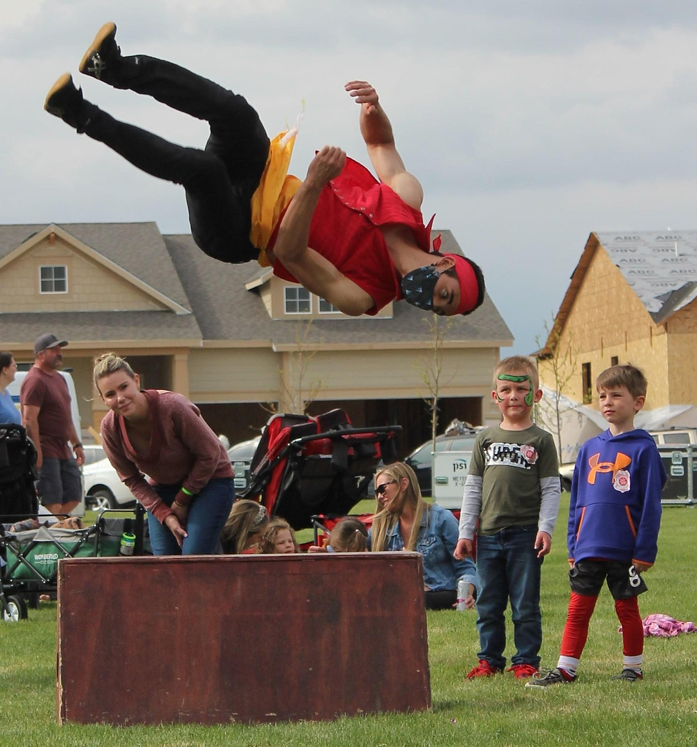 Colorado acrobats