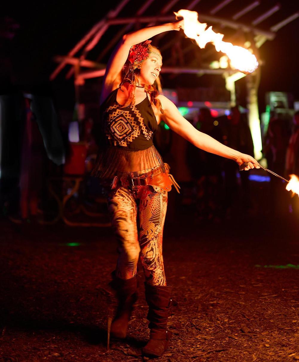 fire dancing event entertainment Denver Colorado