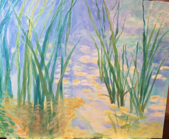 19. REEDS IN WATER